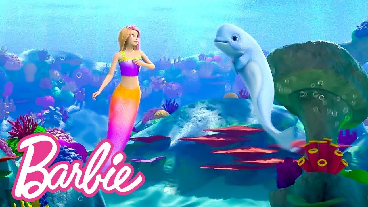 Download @Barbie | Magical Mermaid Mystery Marathon! 🌊 ✨ | Barbie Dreamhouse Adventures