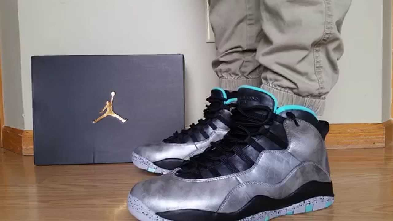 the latest 588bc 530b6 NIKE AIR JORDAN 10 X RETRO 30TH AS ALL-STAR STATUE OF LADY LIBERTY NYC 2015  ON FEET REVIEW HEAT! - YouTube