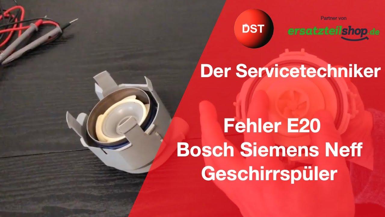 E20 Bosch Siemens Heizpumpe Hat Falsche Widerstandswerte Youtube