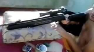 Carabina de pressão Hatsan 125 sniper 5.5mm