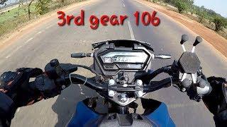Honda XBlade top speed