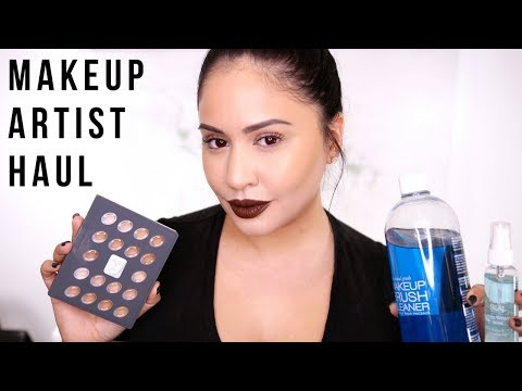 Makeup Artist Essentials Haul | RositaApplebum
