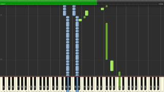 Zelda Twilight Princess - Hidden Village (Synthesia) Resimi