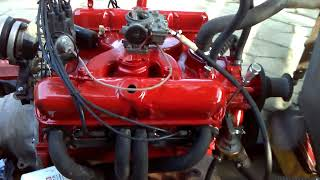 mopar 273 engine start