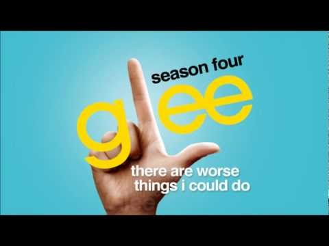 There Are Worse Things I Could Do - Glee [HD Full Studio]