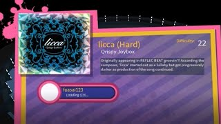 Robeats: Licca (Hard)   No miss A   92.07%   Default Timing