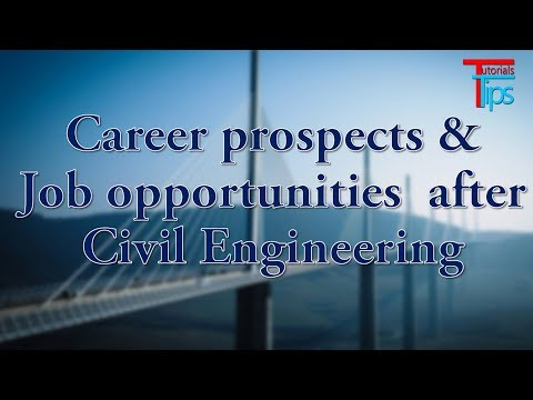Job opportunities after Civil Engineering | Career prospects