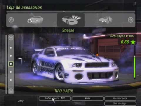 Need For Speed Underground 2 Tuning Mustang Gt E Uma