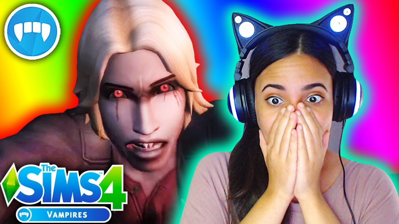 The Sims 4 Vampires Trailer REACTION! First Impressions, Thoughts, &  Opinions Discussion - YouTube