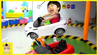 Indoor Playground Fun for Kids and Family Play Rainbow Colors Car | MariAndKids Toys
