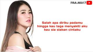 Download lagu Via Vallen - Salah Apa Aku ( Official Lyrics Video )