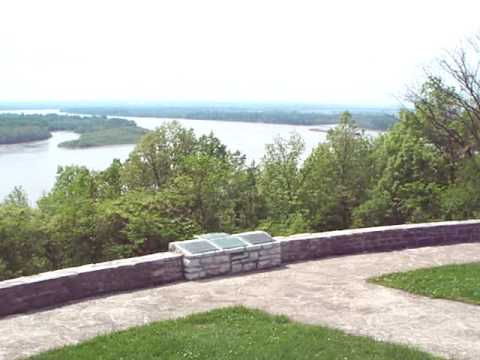 Overlook at Fort Kaskaskia State Park