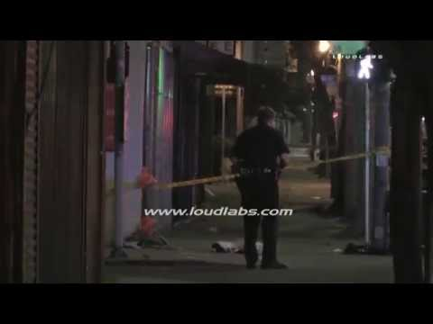 12th Ave Shooting investigation / South Los Angeles