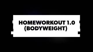 Homeworkout 1.0