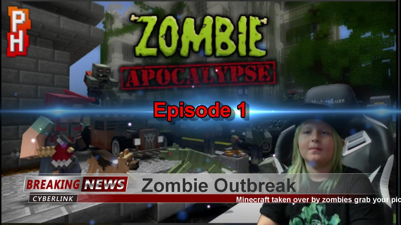 Minecraft Zombie Apocalypse Episode 12 Zomb12Boss - YouTube