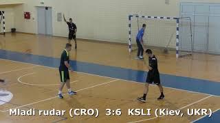 Handball. KSLI (Kiev, UKR) - Mladi rudar (CRO). U16 boys. TROPHY-2018. Smederevo.