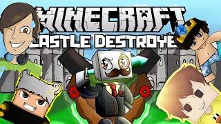 YENİLENMİŞ HARİTA!! - Minecraft GG Castle Destroyer w/Minecraft Evi,Batuhan Çelik