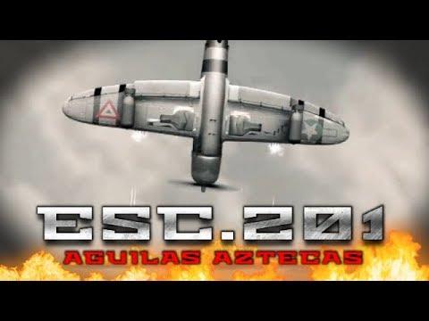 historia del escuadrón 201 Águilas aztecas en la segunda guerra