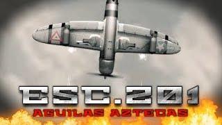 Historia del Escuadrón 201 ° Águilas Aztecas en la Segunda Guerra Mundial