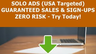 Solo Ads Review | Cheapest Seller Of Solo Ads