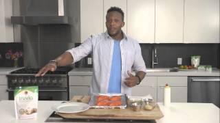 Fit Men Cook: Salmon With Truvía® Brown Sugar Blend Glaze