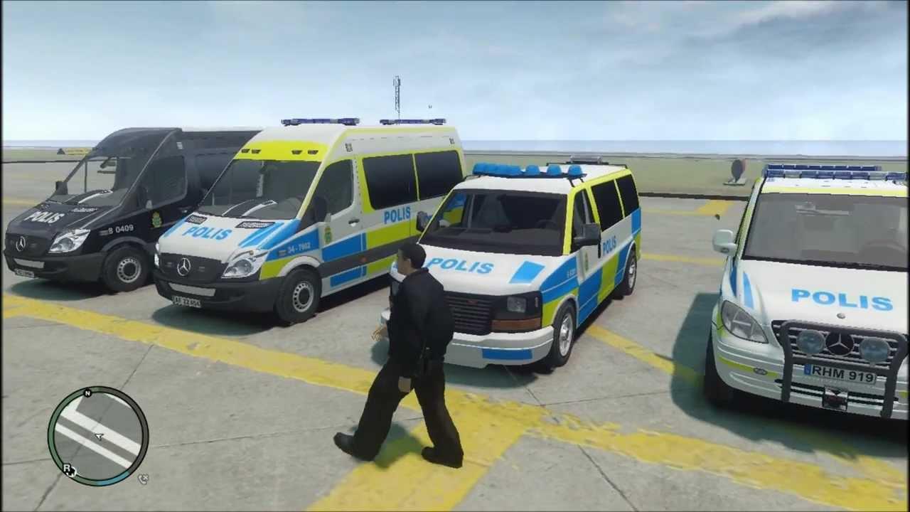 Gta 4 police car pack els