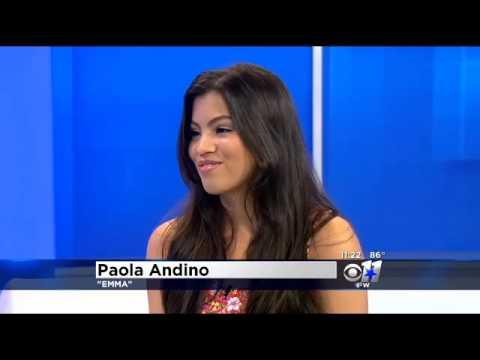 Dallas native Nickelodeon star Paola Andino visits CBS11