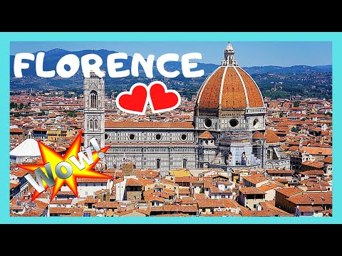 Spectacular FLORENCE (FIRENZE), the top 25 attractions, WHAT TO SEE (ITALY)