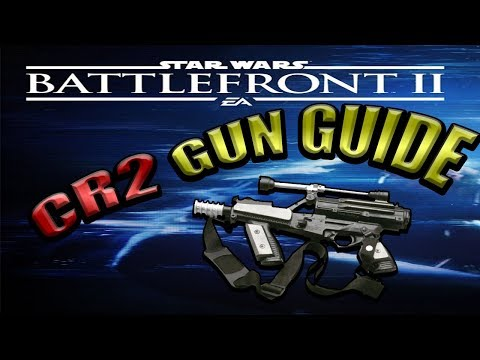 Star Wars Battlefront 2 Gun Guides | CR2 Heavy Blaster Pistol