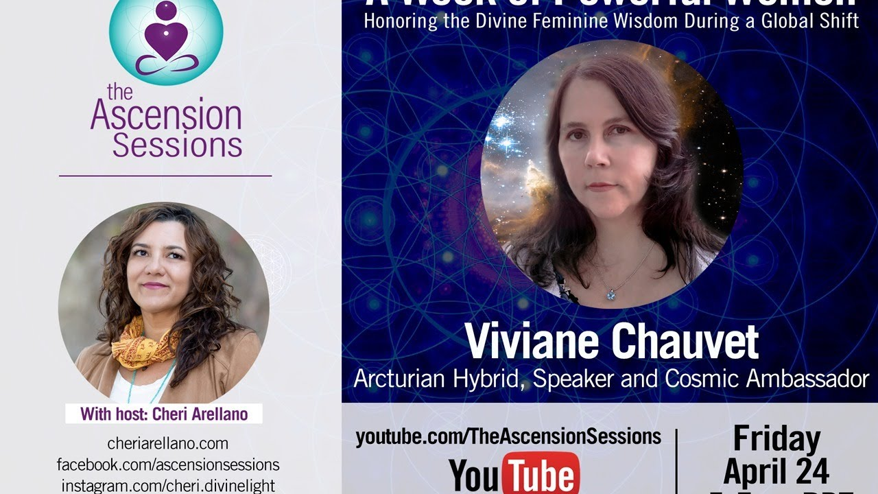Viviane Chauvet: A Week of Powerful Women: Honoring the Divine Feminine Wisdom During a Global Shift