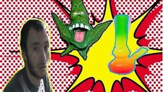 (18+)Смотреть всем!!! Лёгкая наркомания. парень завтыкал при просмотре мультика