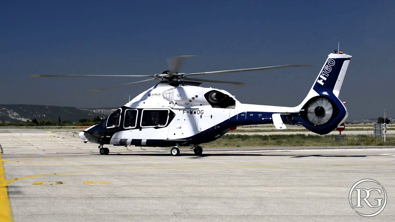 Airbus Helicopters H160 Presentation June 25 2015 Youtube