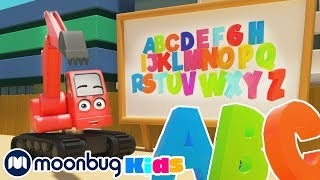 Learn ABCs at the Construction Site - Alphabet Song | Cartoons and Kids Songs | Digley and Dazey