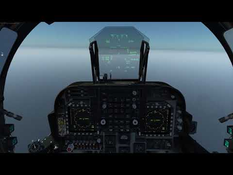 Landing a Harrier on an oil rig
