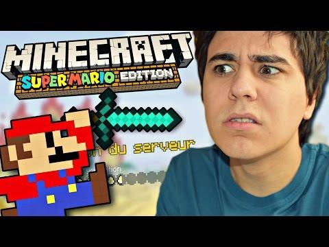 FAROD SUR MINECRAFT !? (Nintendo Pack Mario) #NOOB