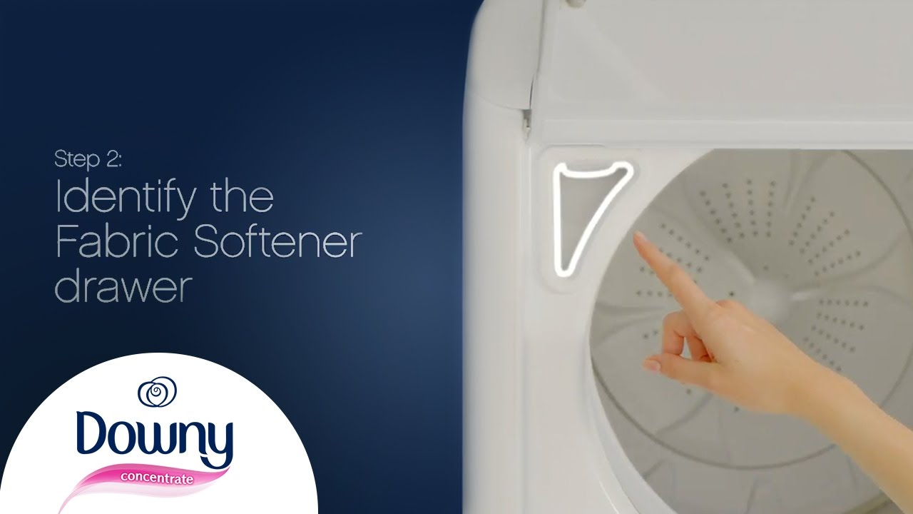 How To Use Fabric Softener Top Loader Downy Youtube