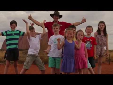 Exclusive To Flight Centre - Uluru Family Shindig Tour