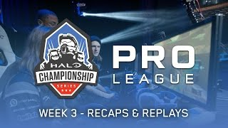 Recaps & Replays - Week 3 - HCS Pro League Fall 2016 Season