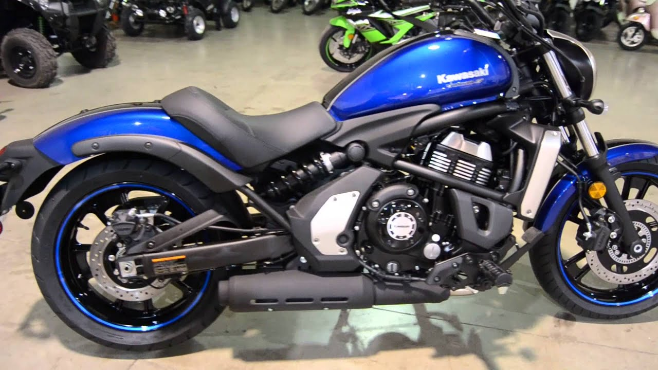2016 Kawasaki Vulcan 650 SE Blue For Sale Freedom Powersports Fort Worth Texas