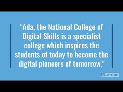 Ada. National College for Digital Skills Curriculum