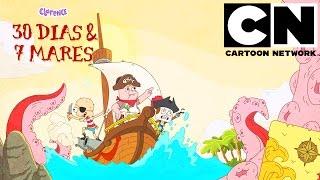 """Treinta días y Siete mares  v1.0  """"Cartoon network""""  """"NOVEDAD"""""""