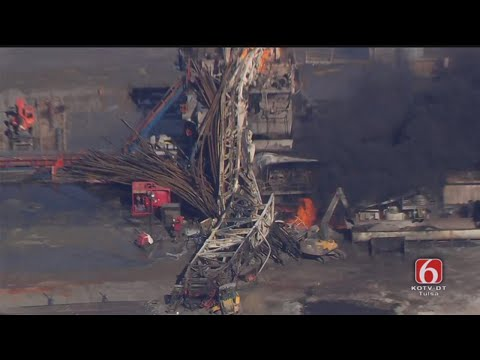Osage SkyNews 6 HD: Explosion In Pittsburg County