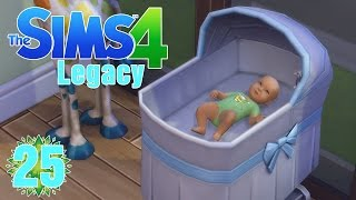 "Its a Boy! ""The Sims 4 Legacy"" Ep.25"