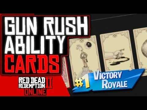 BEST ABILITY CARDS For GUN RUSH Red Dead Redemption 2 Online (RDR2 Online) thumbnail
