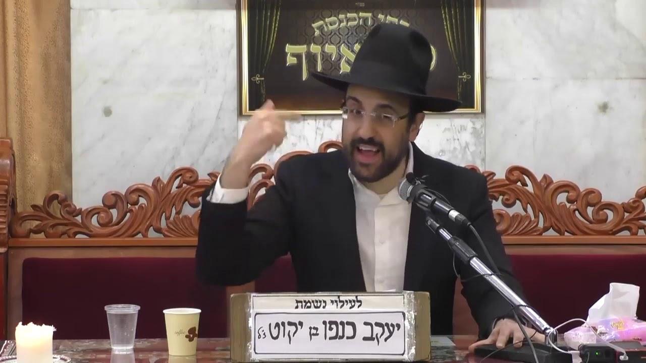 הרב מאיר אליהו - מעלת ליל הסדר וחידושים בהגדה של פסח  התש''פ
