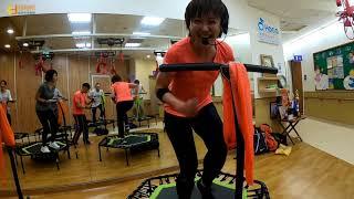 菲特邦健康管理|銀髮族體適能|彈跳床運動|全方位訓練