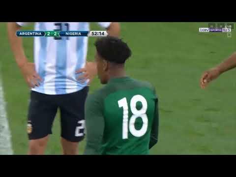 Argentina 2-4 Nigeria/ International Friendly