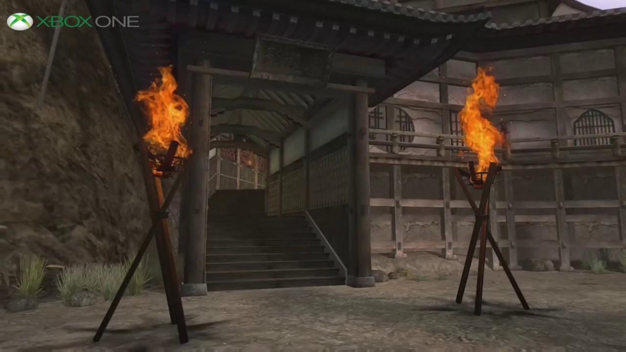 Ninja Gaiden Black Xbox Vs Xbox One Comparassion Youtube