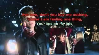 Justin Bieber Mistletoe Karaoke