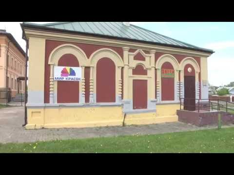 The old synagogue in Mir, Belarus